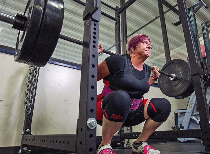 Age just a number for Langford powerlifter – Goldstream News