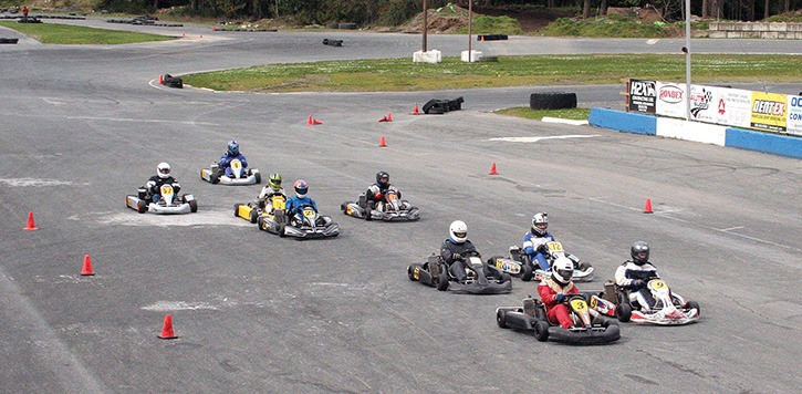 Kart racers are on the go at Western Speedway – Goldstream
