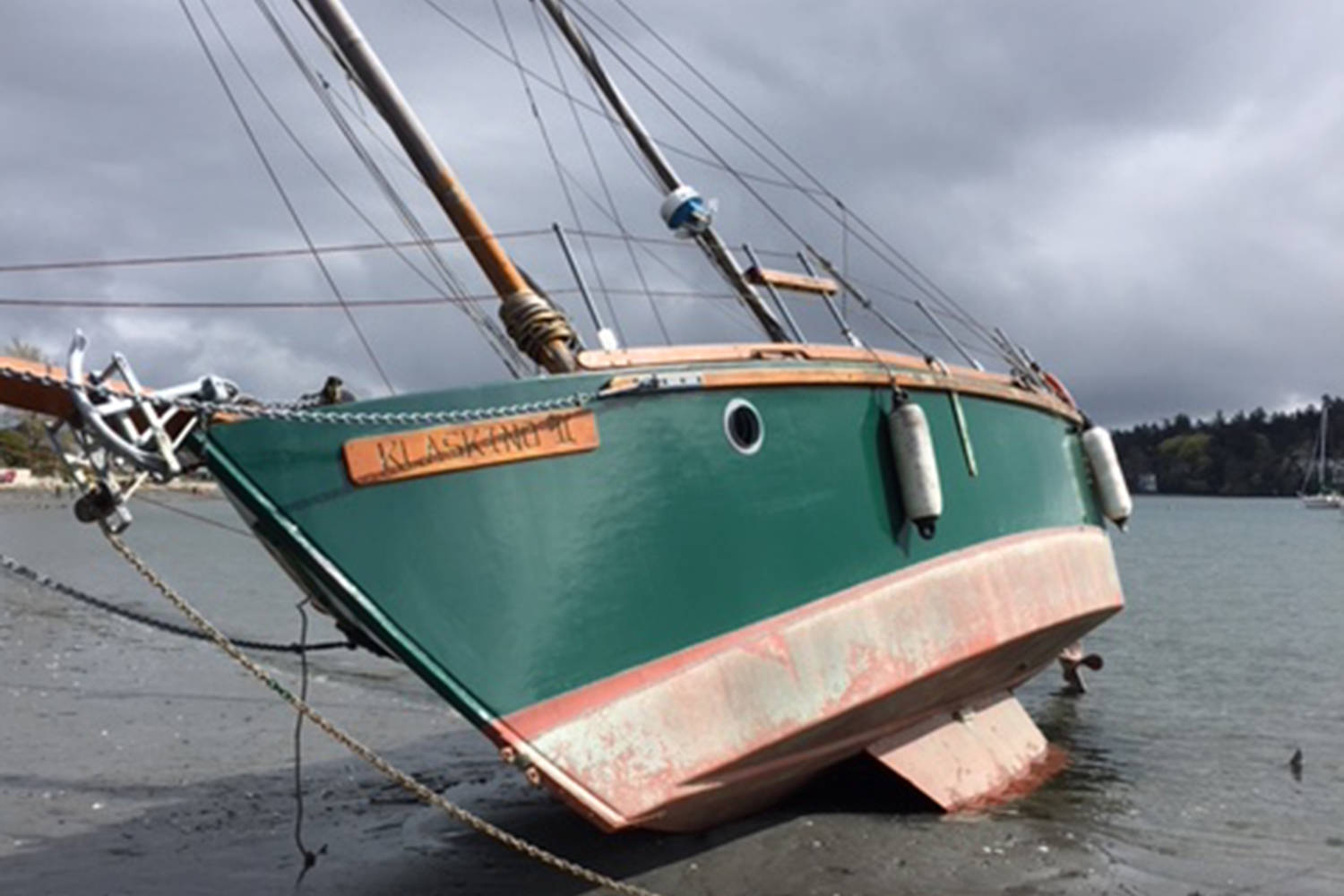 sailing vessel washes up in cadboro bay goldstream news gazette