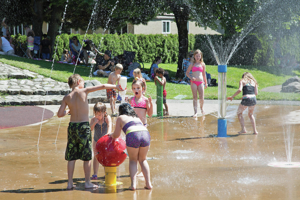Beat the heat at the spray park – Goldstream News Gazette