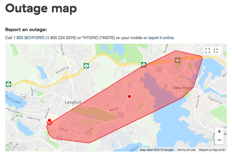 Power outage hits roughly 10,000 customers on the West S ... on boonville ms on map, once upon a time map, route map, electric grid map, power pole, power out, atlantic city electric territory map, northern pass transmission line map, power google map, oge system map, power safety, power lines, evacuation map, blank northeast region map, flooding map, power grid, power brownouts, power surge map, emergency map, power regions map,