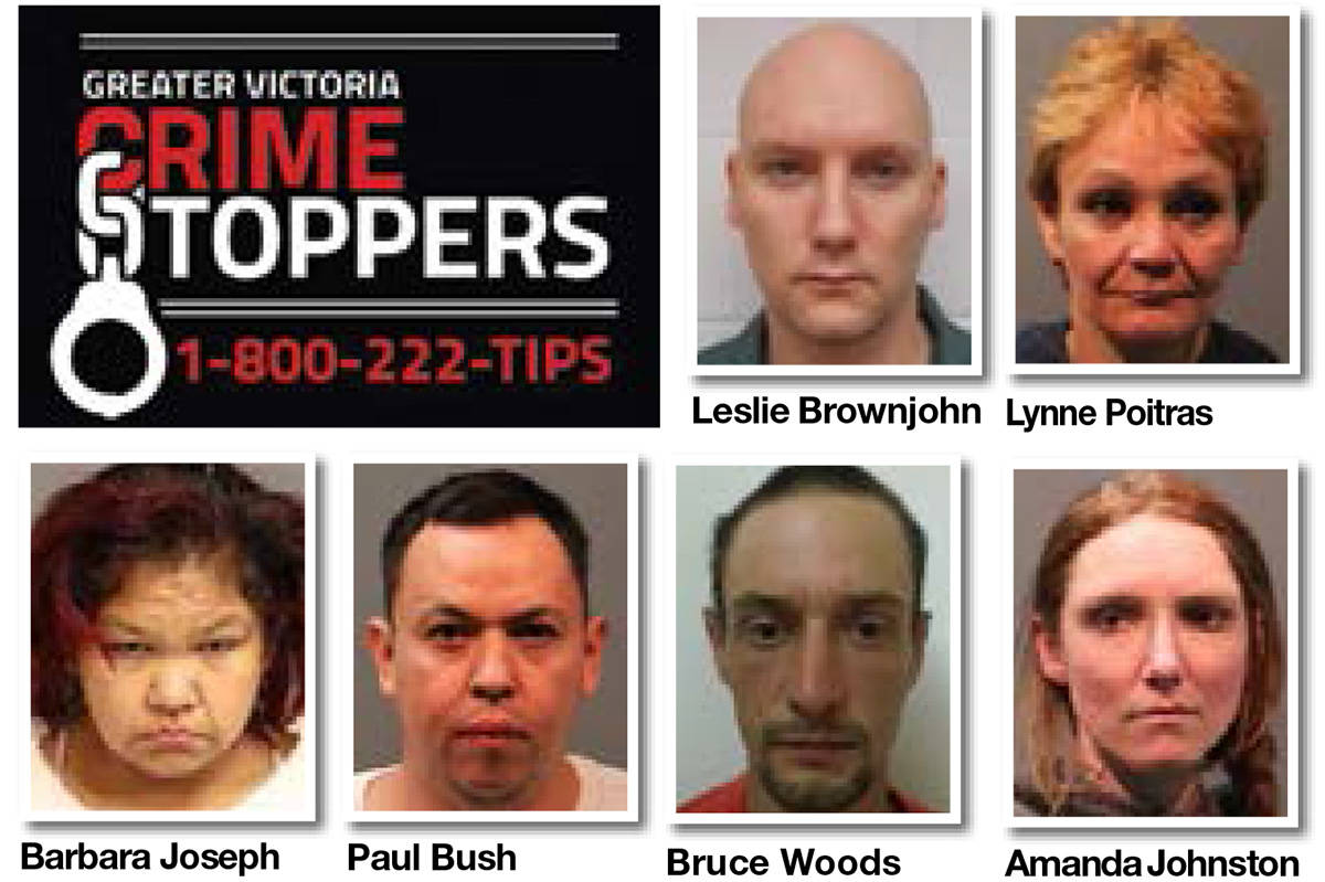 Greater Victoria wanted list for the week of Sept  3