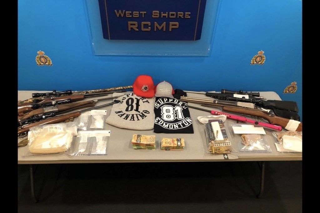 RCMP drug busts nets trucks, cocaine, cash and Hell's Angels gear - Goldstream News Gazette